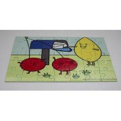 Mesebeli puzzle - Levelezőtársak
