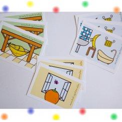 Angol tematikus kifejezéskártyák - OTTHON