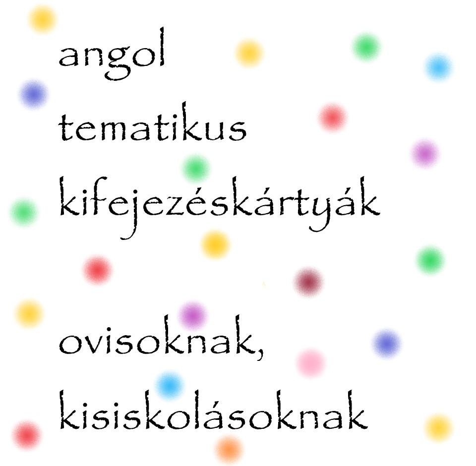 Tematikus angol kifejezéskártyák