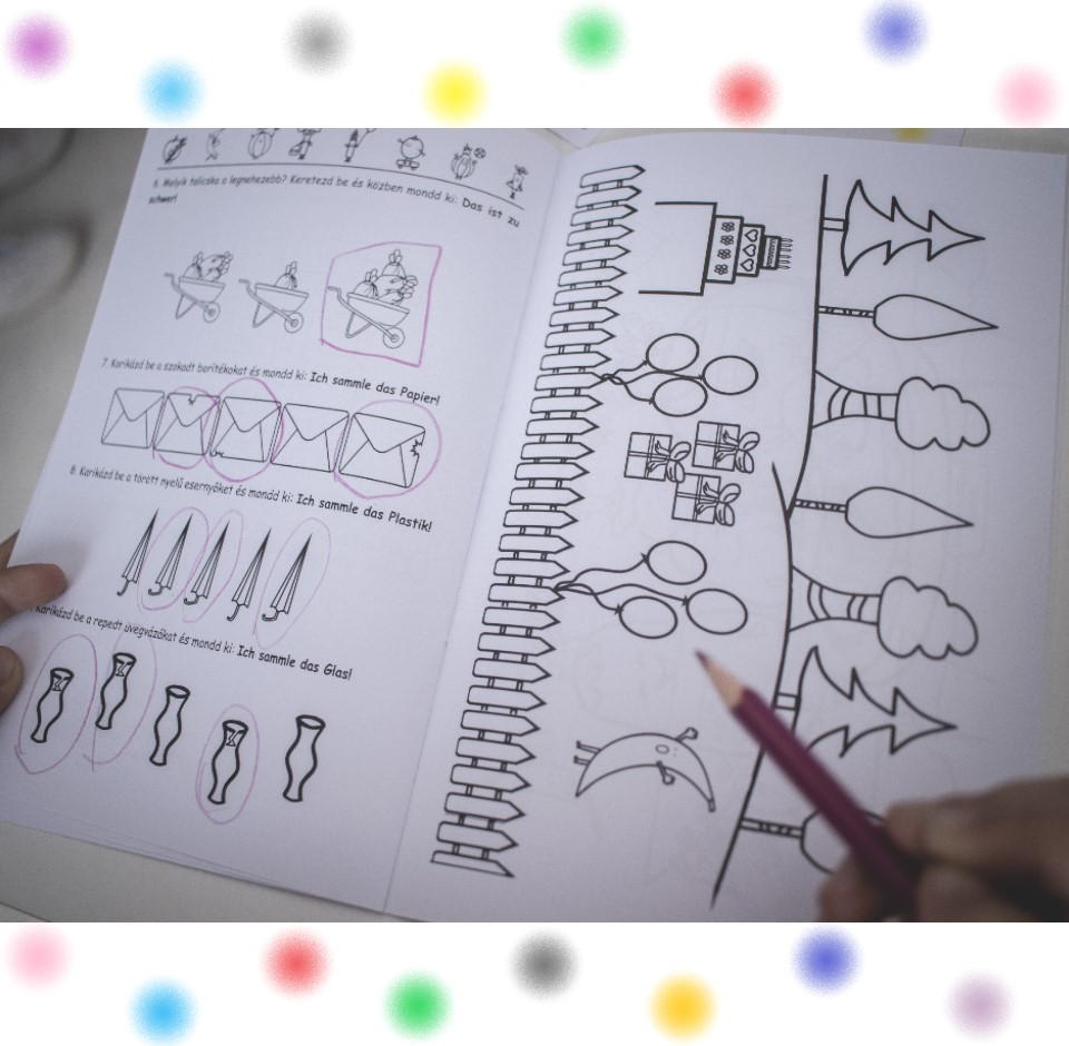 Munkafüzet a kreatív nyelvgyakorláshoz